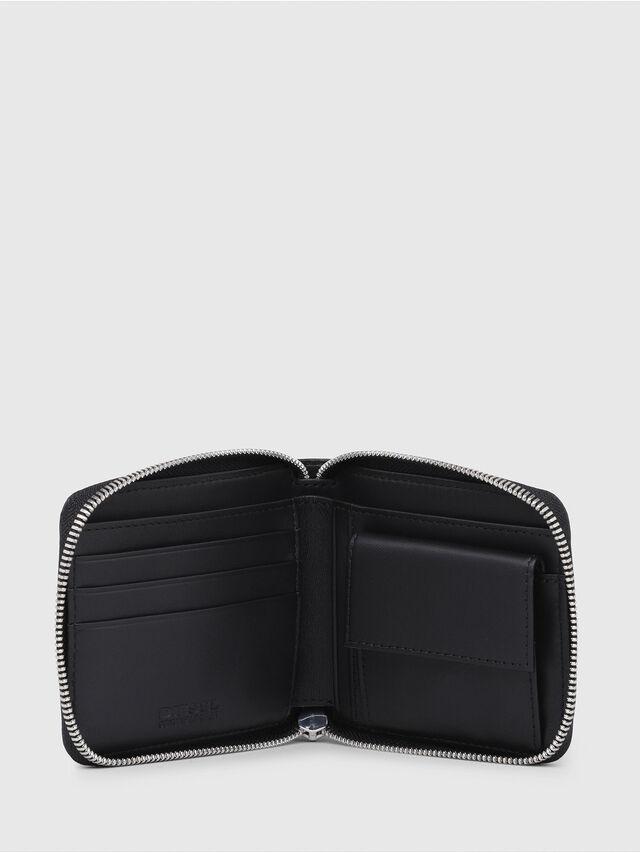 Diesel - ZIPPY HIRESH S, Black - Zip-Round Wallets - Image 3