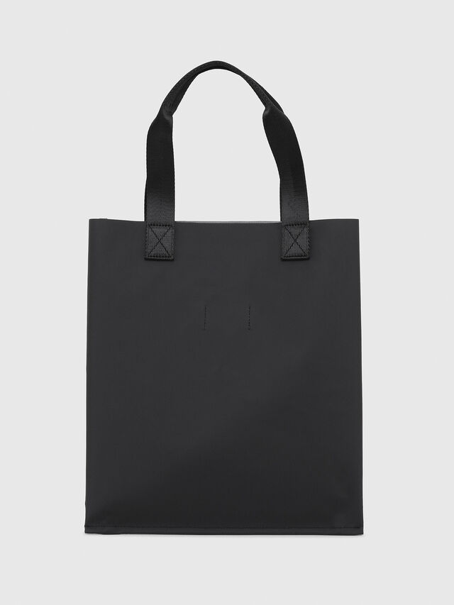 Diesel - BILLBOARD SHOPPER, Black/Yellow - Bags - Image 2