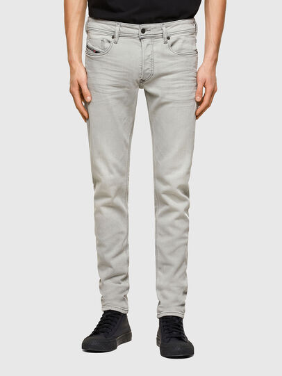 Diesel - Sleenker 009PY, Light Grey - Jeans - Image 1