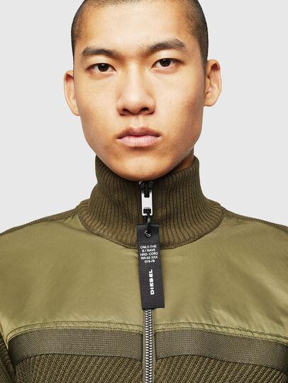 Diesel - K-MANY, Green - Knitwear - Image 3