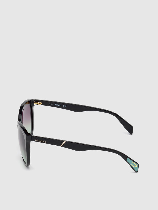 Diesel - DL0221, Black - Eyewear - Image 3
