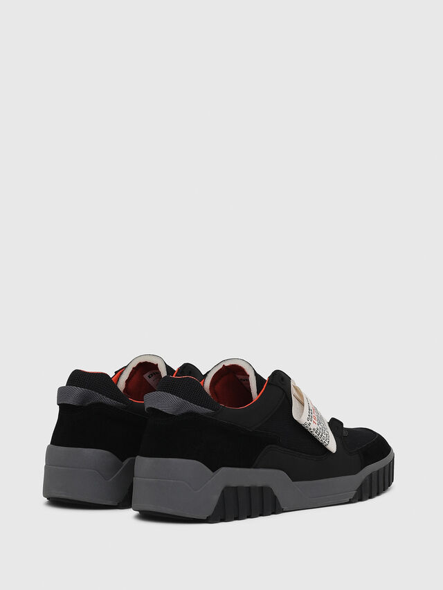Diesel - S-LE RUA ON, Black - Sneakers - Image 3