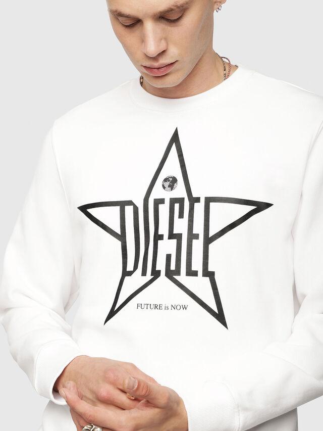 Diesel - S-GIR-YA, White - Sweaters - Image 3