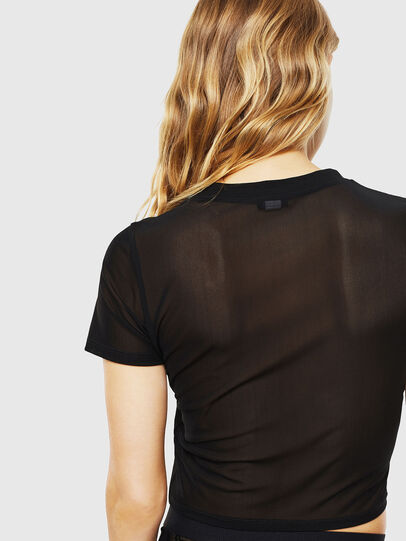 Diesel - UFTEE-ROUNDFEM-M, Black - T-Shirts - Image 2