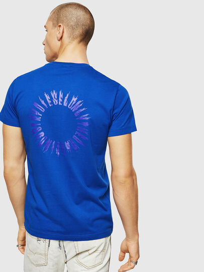Diesel - T-DIEGO-A12, Brilliant Blue - T-Shirts - Image 2