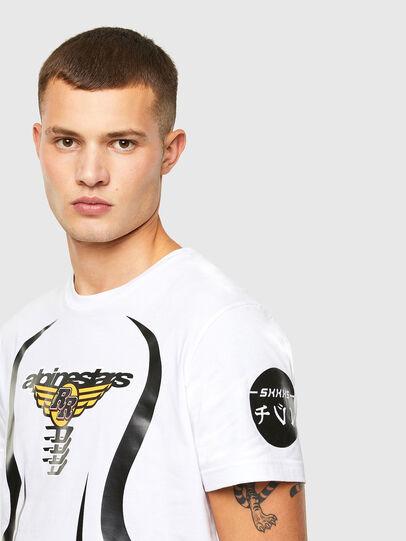 Diesel - ASTARS-T-DIEGOS-A, White - T-Shirts - Image 3