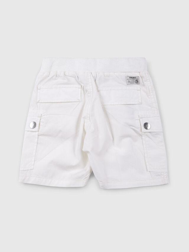 Diesel - PECCIB, White - Shorts - Image 2