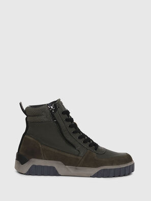 S-RUA MID, Dark Green - Sneakers
