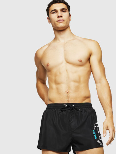 Diesel - BMBX-SANDY 2.017, Black - Swim shorts - Image 1