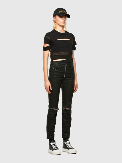 Diesel - T-SLICE, Black - Tops - Image 6