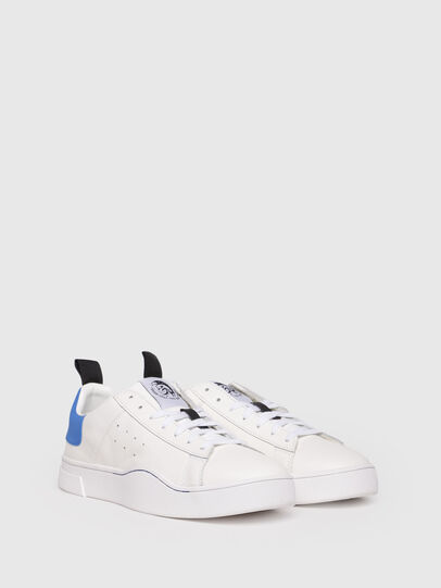 Diesel - S-CLEVER LOW, White/Blue - Sneakers - Image 2