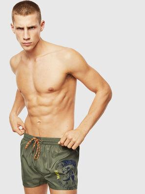 BMBX-SANDY 2.017, Military Green - Swim shorts