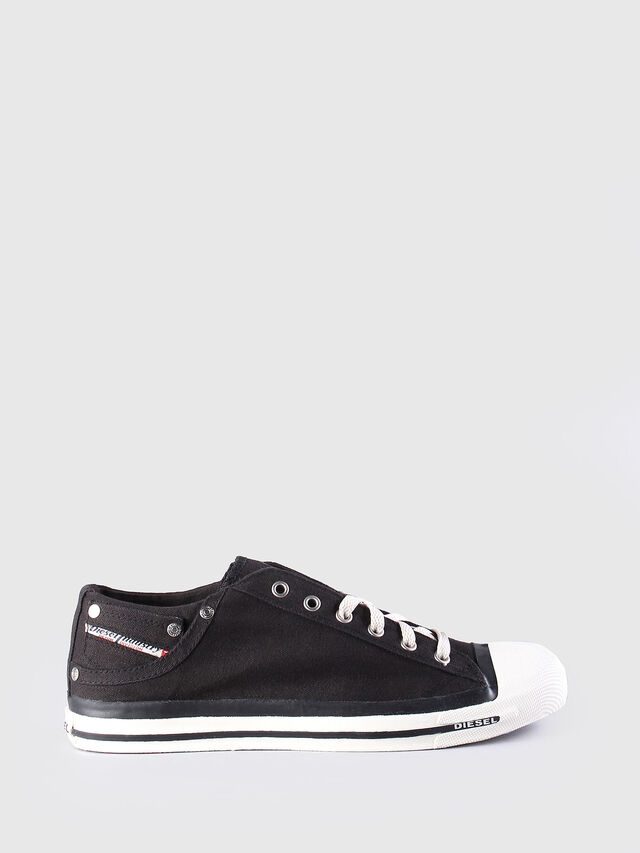 Diesel EXPOSURE LOW, Black - Sneakers - Image 1