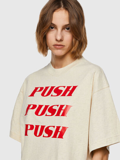 Diesel - T-BOWXY, White - T-Shirts - Image 3