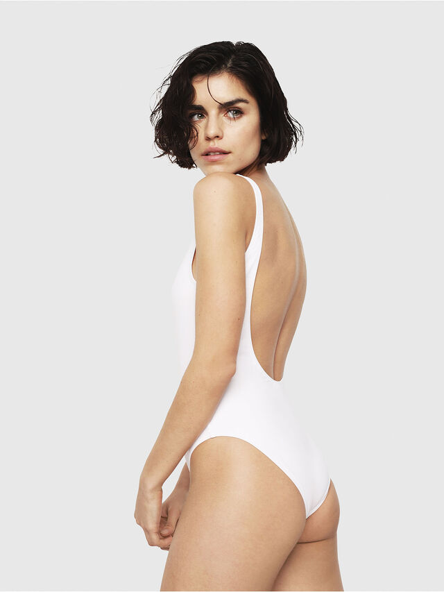 Diesel - BFSW-FLAMNEW, White - Swimsuits - Image 2
