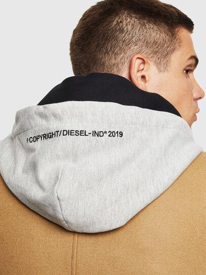 Diesel - W-DEXTY, Beige - Winter Jackets - Image 3