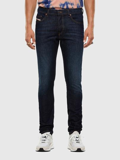 Diesel - D-Luster 009EQ, Dark Blue - Jeans - Image 1