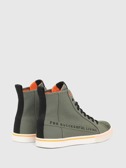 Diesel - S-DVELOWS ML, Military Green - Sneakers - Image 3