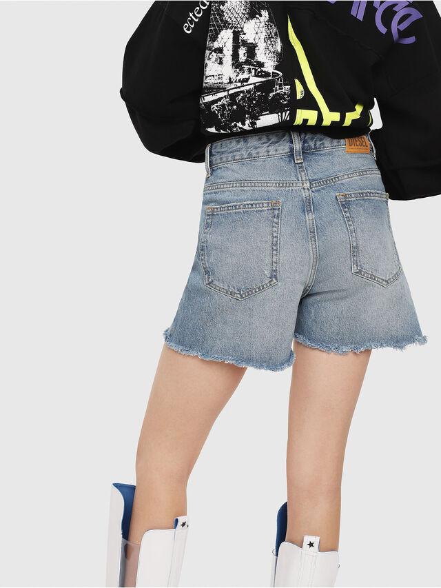 Diesel - DE-EISELLE, Blue Jeans - Shorts - Image 2