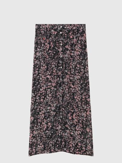 Diesel - O-PALMS, Black/Pink - Skirts - Image 5