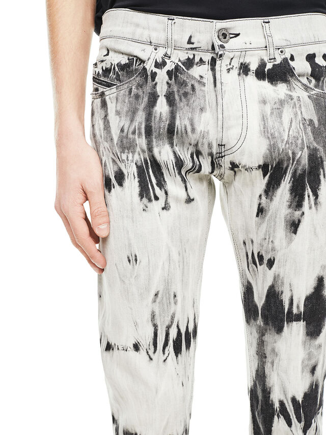 Diesel - TYPE-2813FS, White/Black - Jeans - Image 4