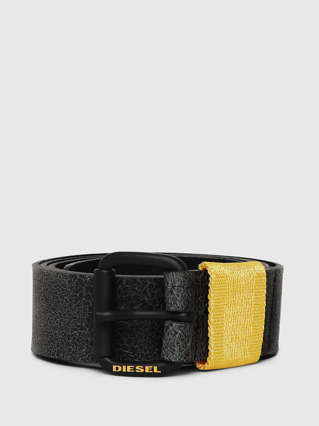 Diesel - B-VIDOR, Black/Yellow - Belts - Image 1