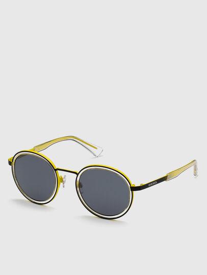 Diesel - DL0321, Black/Yellow - Sunglasses - Image 2