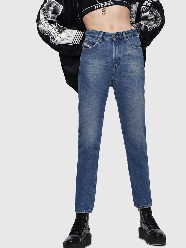 Diesel - D-Eiselle 0076X, Medium blue - Jeans - Image 1