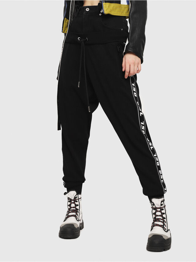 Diesel - M-SUIT-A, Black - Pants - Image 1