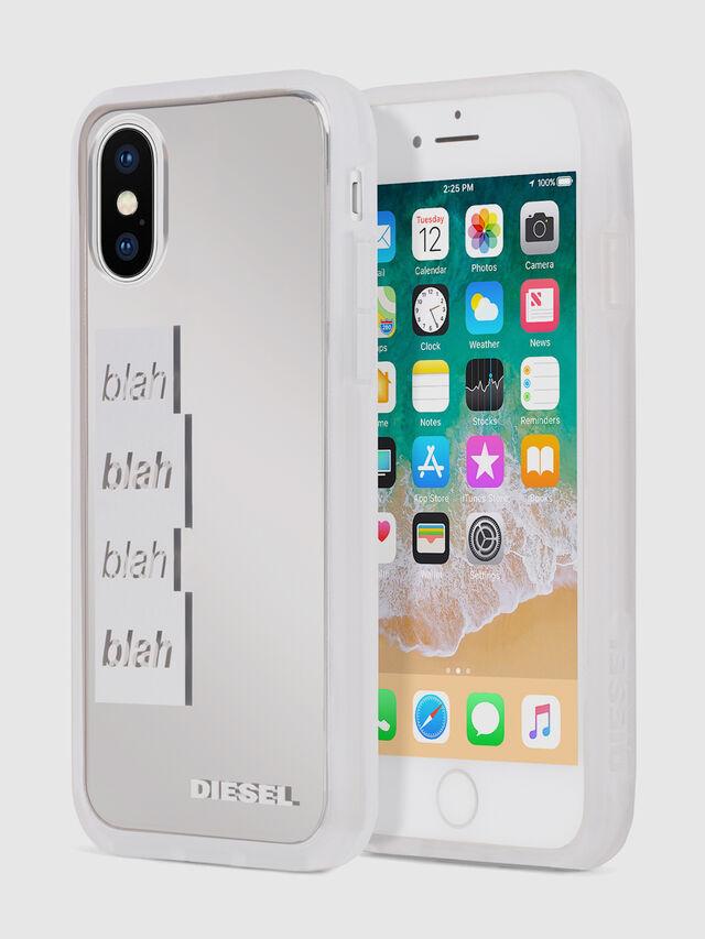 Diesel BLAH BLAH BLAH IPHONE X CASE, White - Cases - Image 1