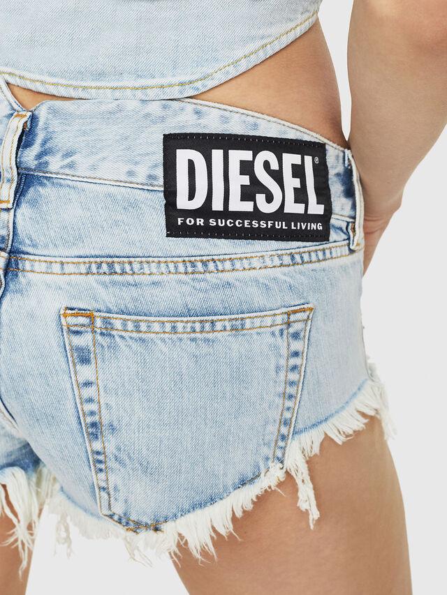 Diesel - DE-MUNROE, Blue Jeans - Shorts - Image 3