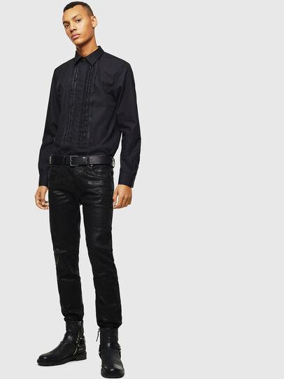 Diesel - S-PLIS, Black - Shirts - Image 5