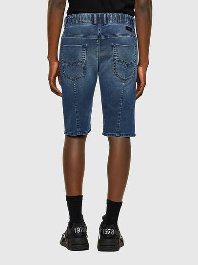 Diesel - D-KROOSHORT JOGGJEANS, Medium blue - Shorts - Image 2
