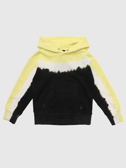 Diesel - SALBYDEEP OVER, Black/Yellow - Sweaters - Image 1