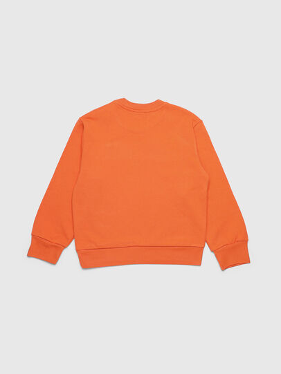 Diesel - SCREWDIVISION OVER, Orange - Sweaters - Image 2