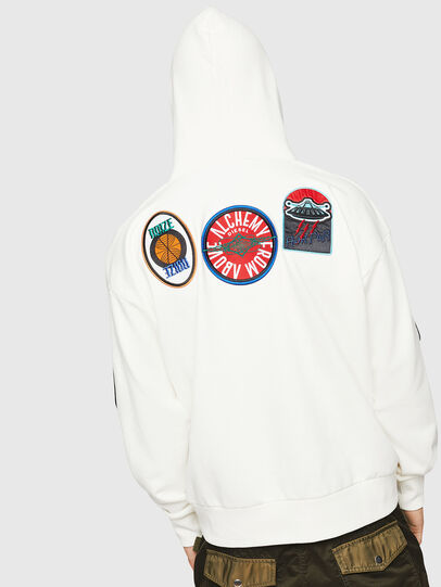 Diesel - S-ALBY-PATCHES, White - Sweaters - Image 2