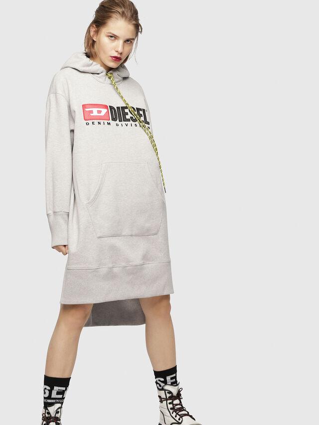 Diesel - D-ILSE-C, Light Grey - Dresses - Image 1
