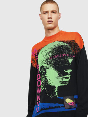 K-MELTER, Multicolor/Black - Knitwear
