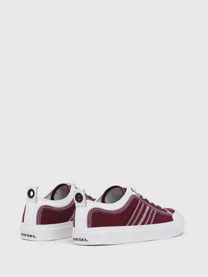 Diesel - S-ASTICO LOW LACE, Burgundy - Sneakers - Image 3