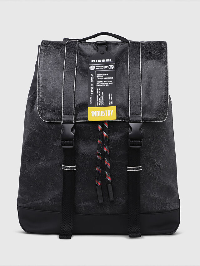 Diesel - VOLPAGO BACK, Anthracite - Backpacks - Image 1