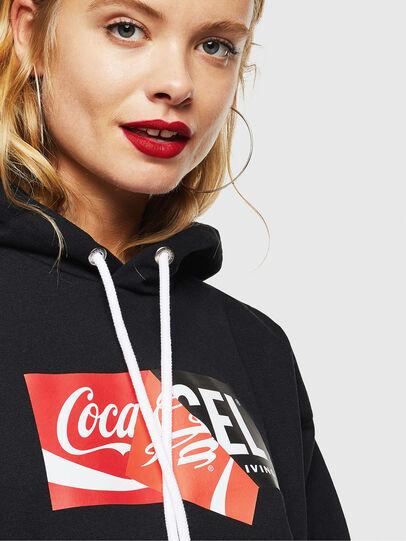 Diesel - CC-S-ALBY-COLA, Black - Sweaters - Image 5