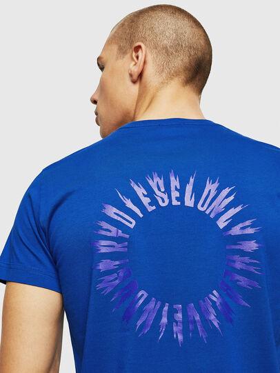 Diesel - T-DIEGO-A12, Brilliant Blue - T-Shirts - Image 3