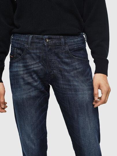 Diesel - D-Bazer 0095W, Dark Blue - Jeans - Image 3
