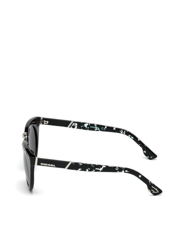 Diesel DL0211, Black - Eyewear - Image 3