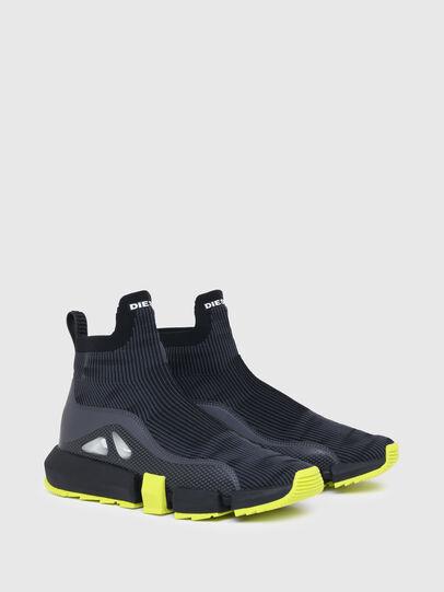 Diesel - H-PADOLA MID TREK, Black - Sneakers - Image 2