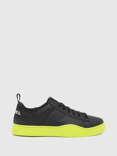 Diesel - S-CLEVER LOW LACE, Black/Yellow - Sneakers - Image 1
