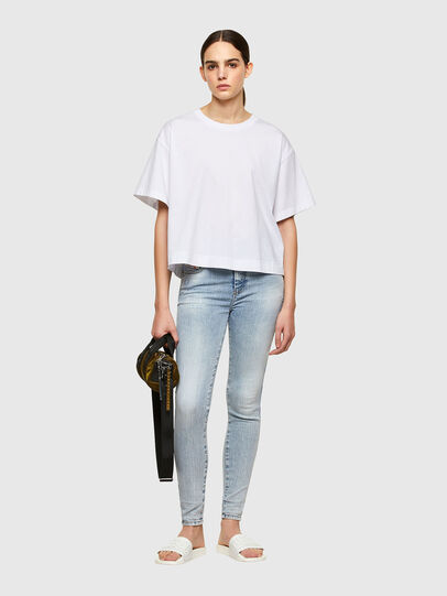 Diesel - Slandy High 009TG, Light Blue - Jeans - Image 5
