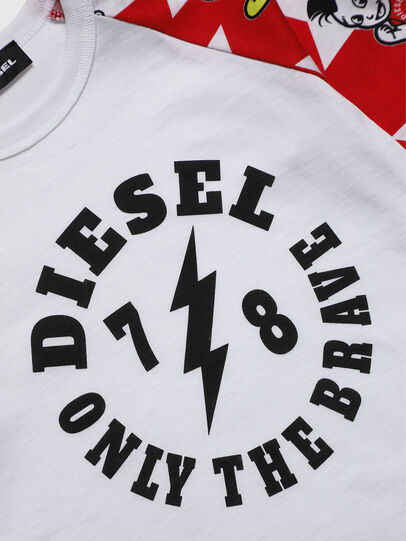 Diesel - TCELLOB-R, White - T-shirts and Tops - Image 3