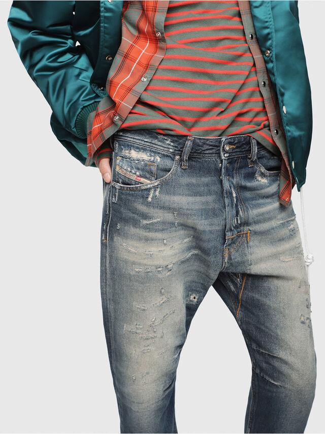 Diesel - Narrot 088AQ, Dark Blue - Jeans - Image 3