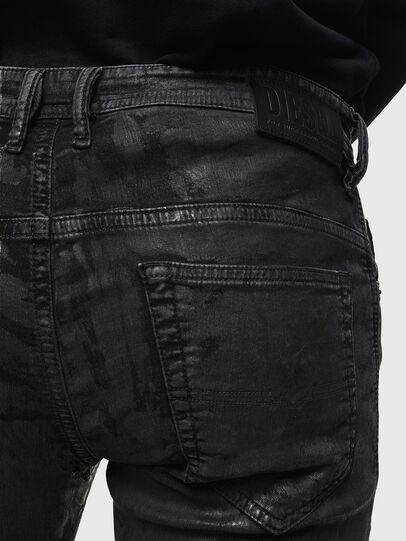 Diesel - Thommer JoggJeans 084AI, Black/Dark grey - Jeans - Image 4